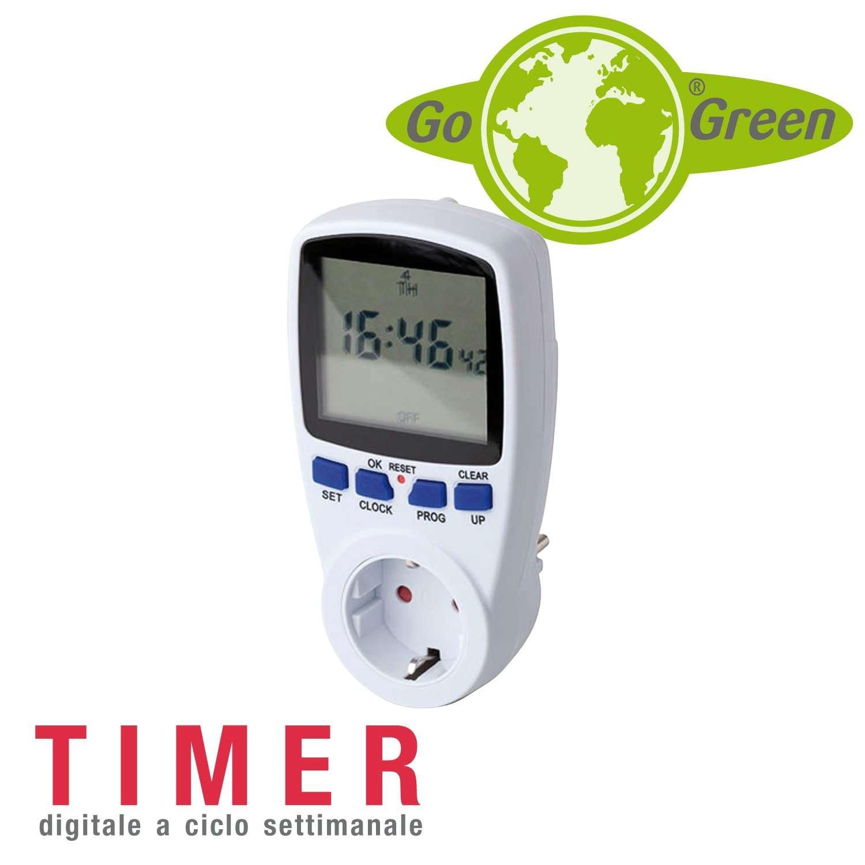 Gogreen timer digitale settimanale riscaldamento for Dimplex radiatori elettrici