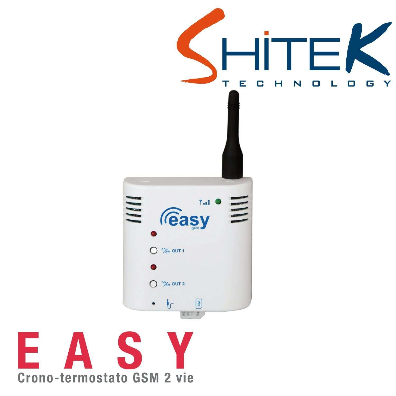 Shitek easy cronotermostato riscaldamento elettrico for Dimplex radiatori elettrici