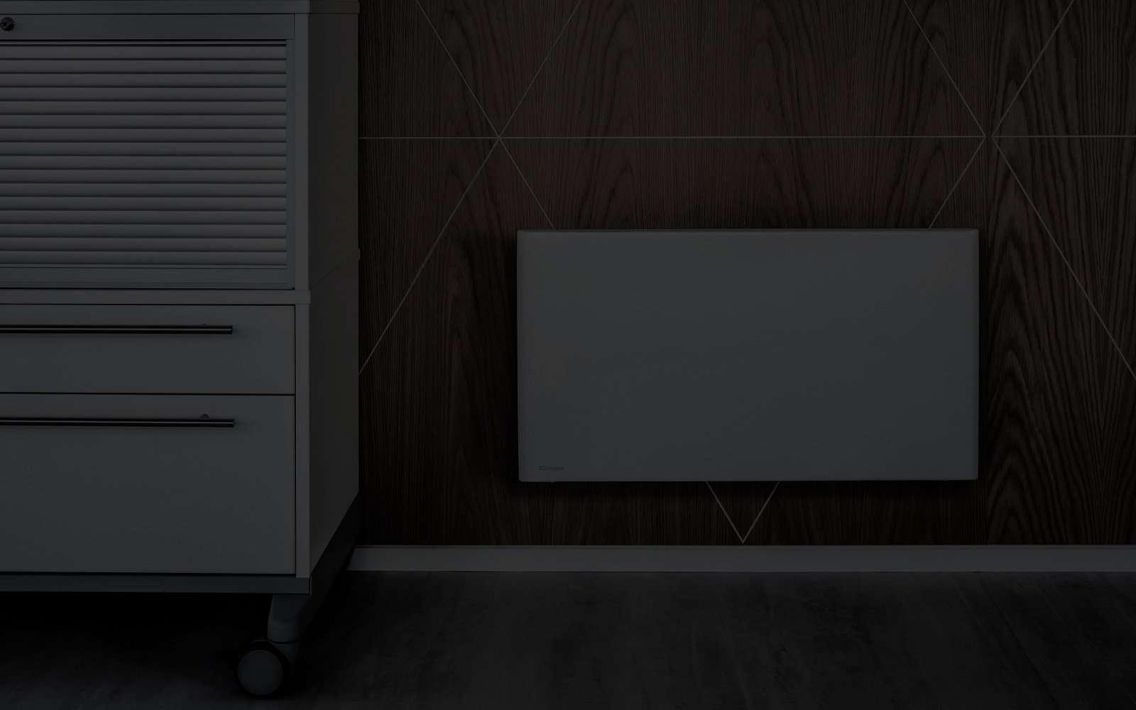 Dimplex kontor2 black riscaldamento elettrico norvegese for Dimplex radiatori elettrici