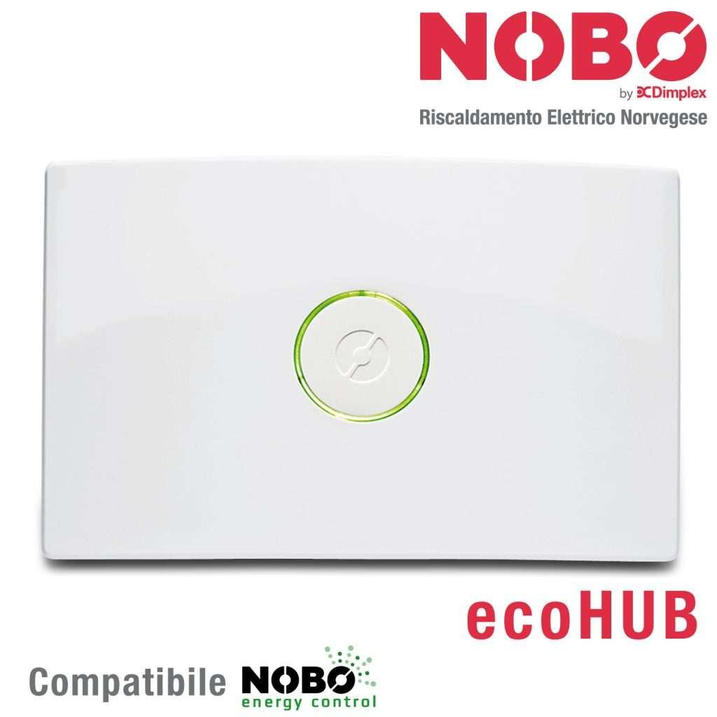 Nobo ecohub per controllo remoto radiatori elettrici for Dimplex radiatori elettrici