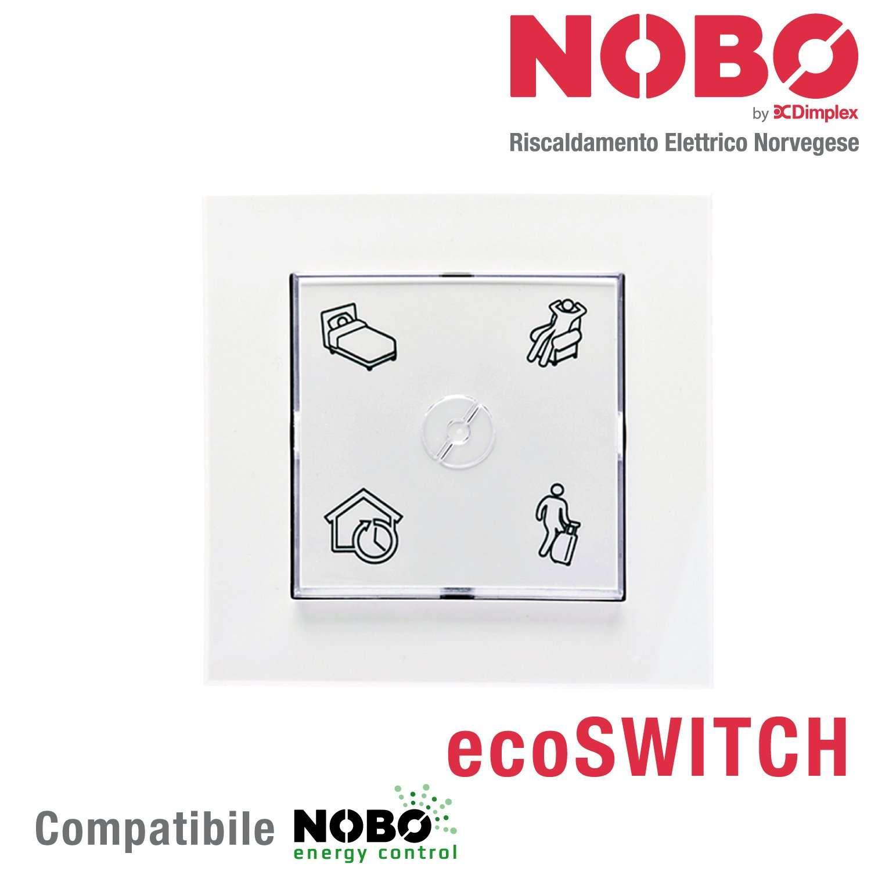 Nobo Ecoswitch Per Controllo Radiatori Elettrici Norvegesi