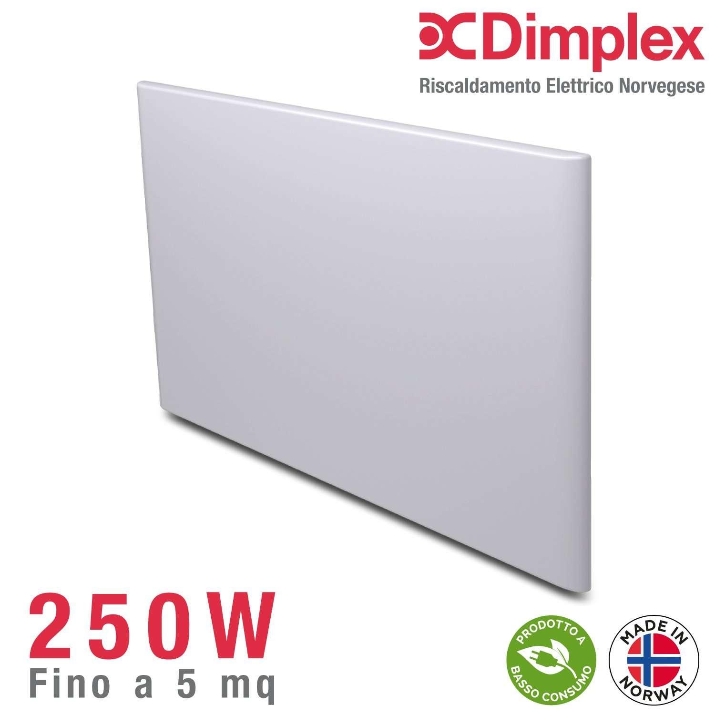 Radiatore elettrico norvegese DIMPLEX  250W  per ambienti fino a 5 m² • Riscaldamento ...