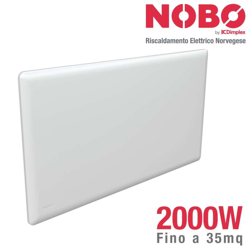 radiatore elettrico norvegese nobo 2000w per ambienti