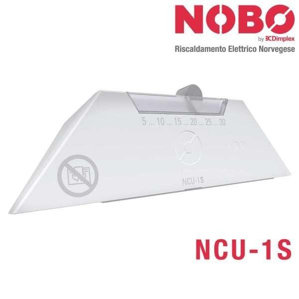 Radiatore elettrico norvegese nobo termostato NCU-1S